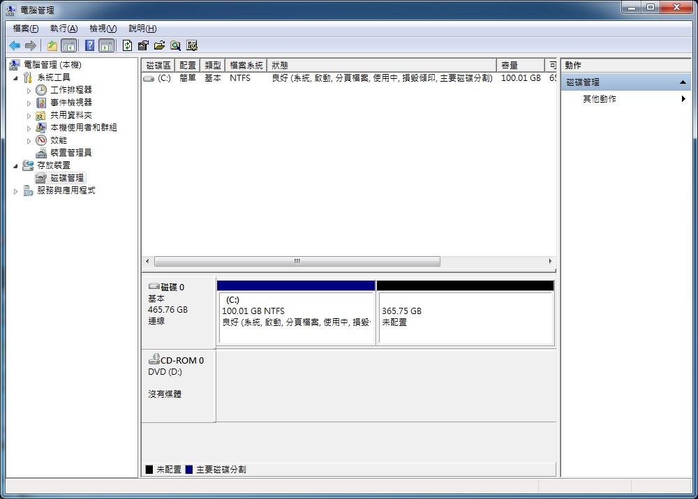 Windows 7 SRC F2 一鍵還原